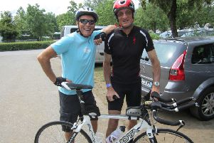 Lenzie man Ken's 3000km charity cycle in tribute to his late friend