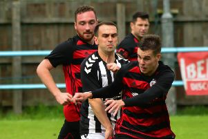 Rob Roy drew 1-1 with cup final opponents Beith in last week's league encounter (pic by Stephen Kerr)