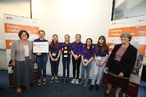 Young Lenzie Academy engineers triumph in top UK challenge