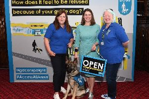 Campaign for guide dog access