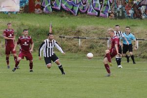 Action from Cumbernauld's win at Glasgow Perthshire (pic: Edward Dickson)