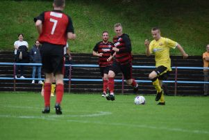 Action from Rob Roy's win over Glasgow Perthshire (pic by Neil Anderson)