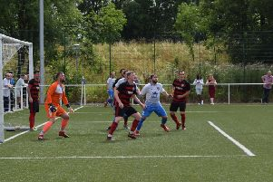 Action from Rob Roy's opener at Benburb (pic: Neil Anderson)