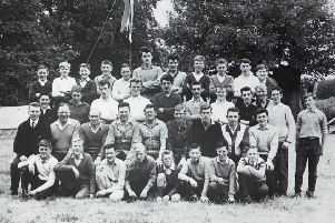 Annual summer camp has always an important part of BB life. The 182 group is pictured at Stonehaven in 1985
