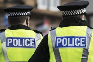 Fireworks deliberately launched at police officers in Bishopbriggs park