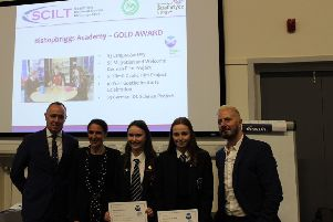 Another accolade for Bishopbriggs Academy