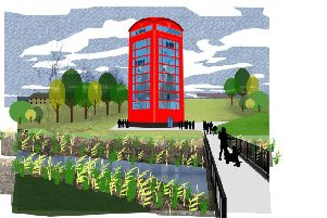 Kirkintilloch 'Giant Phone Box' project wins Scottish town design contest
