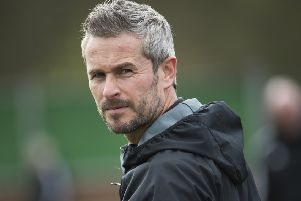 Rob Roy manager Stewart Maxwell and his side face a battle for top flight survival