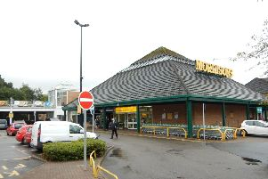 The Morrisons store at Bishopbriggs.