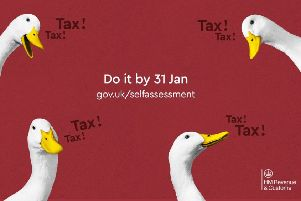 HMRC says you need to 'get quacking' if you've still to complete your Self Assessment tax return.