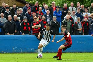 Rob Roy lost to Beith in last season's West of Scotland Cup final (pic by Stephen Kerr)