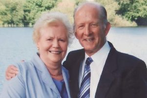 Former Rob Roy FC goalie Ronnie celebrates golden wedding anniversary