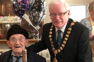 World War II hero Bill bowled over by 100th birthday celebrations