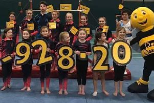 Gymnasts raise £9k in memory of coach