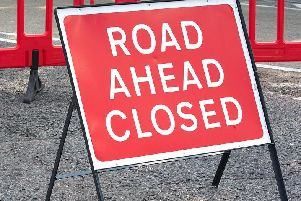 Road at Auchinloch is to close to motorists