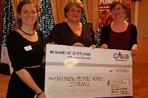 Bishopbriggs choir concert benefits CHAS to tune of £33,000!
