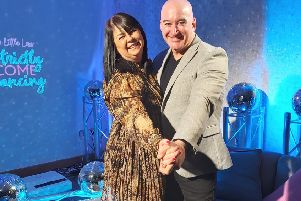 'Strictly' fun for Lenzie lass and Bishopbriggs dance partner in aid of hospice