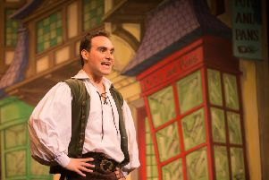 Liam Webster plays Jack in the Gaiety Theatre's panto.
