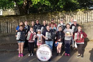 Members of the Forth Bridges Accordion Band have called on the Royal Bank of Scotland to allow them to access their accounts
