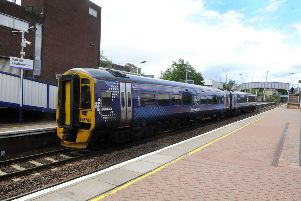 Falkirk rail users face delays