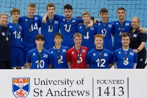 Volleyball players from City of Edinburgh VC helped Scotland East Boys take gold at the Flying Scots tournament