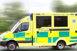 Woman taken to hospital after accident in Bo'ness
