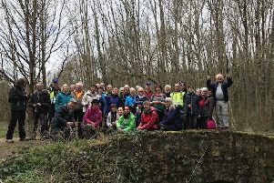 Ready to ramble...walkers in both towns have developed their own friendships over the years and a party of 15 ramblers will visit Linlithgow this year.