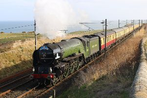 Chance to ride by steam train in Bo'ness over Easter weekend
