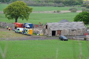Police name men who died in Linlithgow farm tragedy