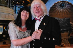 Norma and Laurie Brown celebrated 50 years together on a luxury cruise.