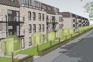 An artist's impression of how the Mactaggart & Mickel development of 48 apartments in Edinburgh Road, Linlithgow, will look