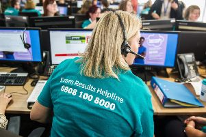 The Exam Results Helpline will be available for young people looking for advice and support.