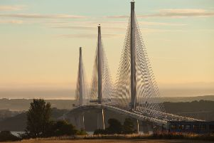 Queensferry Crossing from south.