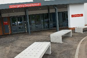 The Emergency Department at Forth Valley Royal Hospital