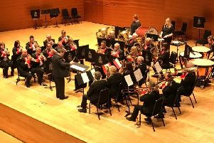 Bo'ness and Carriden Band will play at Bo'ness Town Hall next Friday.