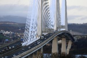 The Queensferry Crossing carries nearly 80,000 vehicles each weekday.