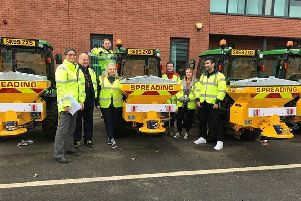 Edinburgh Council gritting teams
