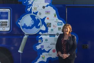 MSP, Fiona Hyslop is highlighting the annual Small Business Saturday Campaign.