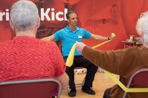 A new chair-based exercise class has started at the Queensferry Sports & Community Hub.
