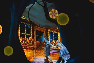 Scottish Ballet's Hansel and Gretel takes to the stage at His Majesty's Theatre