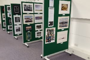 The exhibition is on at Stonehaven Library