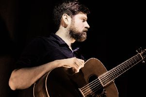 Kris Drever is playing a series of intimate gigs throughout May. (Photo: Genevieve Stevenson)