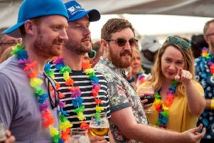 Hawaiian shirt day makes a return to the festival on Saturday