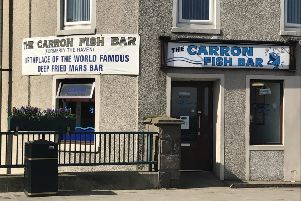 The Carron is shortlisted in the Best Loved Takeaway of the Year category