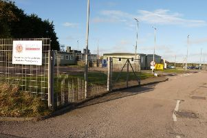 Work on the first phase at the Portlethen fire training centre is expected to start shortly