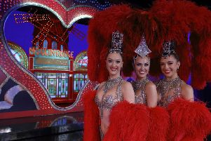 Scottish dancers Lucy Monaghan, Sarah Tandy and Michaela Rondelli feature in the BBC ALBA documentary about the Moulin Rouge's 130th anniversary.