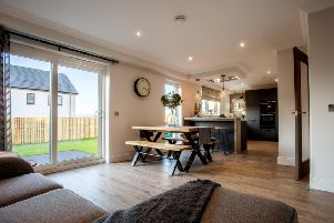The show home at the Marykirk development