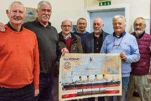 The community team who have come together to mastermind the Titanic project
