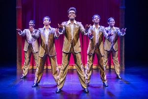 The classic sounds of Motown are being brought to the stage at the Edinburgh Playhouse in the hit show Motown the Musical.  (Photos: Tristram Kenton)