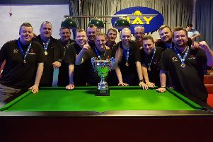 Super XI First Division Pool Champions 2019 Midllothian A team   Scott Roarty, Paul Bryson, Mark Lawrence, Andrew Stalker, Darren Tulloch, Danny Turner, Martin Rogan, Russ Young (capt), Michael Gallacher, Davie Muirhead, Struan Bain, Kevin Rae
